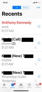 December call
